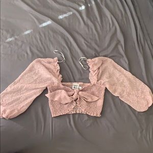 Princess Polly Cropped Top🌸